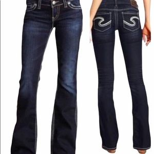 """Silver Jeans Francis 18"""""""